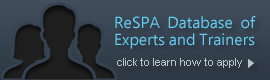 ReSPA Esperts and Trainers database