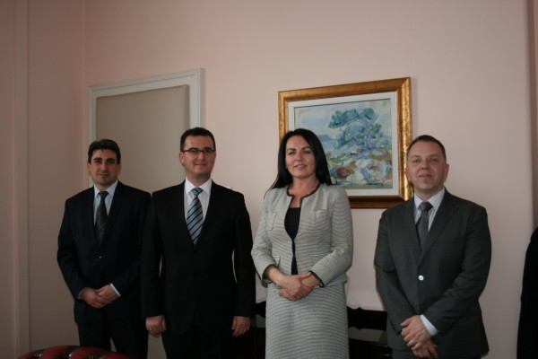 Meeting of the ReSPA Director a.i. with Minister Dubravka Jurlina Alibegović