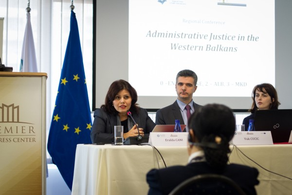 Regional Conference on Administrative Justice in the Western Balkans