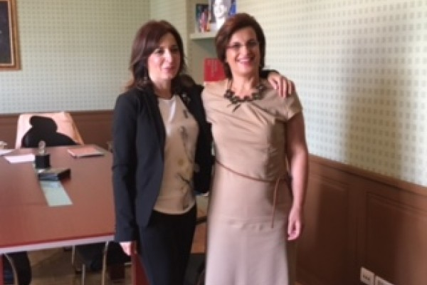 Meeting of  Director Sekulovic with Minister Harito
