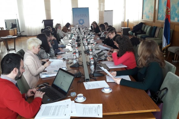 Focus Group Meetings in Podgorica and Belgrade on Comparative Study on Service Delivery