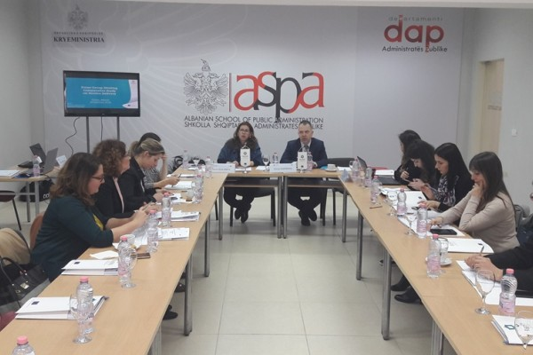 Focus Group Meetings in Tirana and Pristina on Comparative Study on Service Delivery