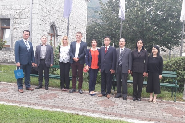 The visit of the Delegation from Shanghai Academy of Social Sciences to ReSPA