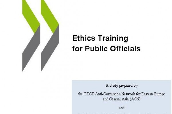 Ethics Training for Public Officials – A publication by OECD available for download on ReSPA Website