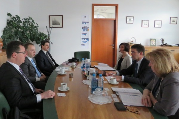 Meeting of the ReSPA Director a.i. with Minister Koprivnikar