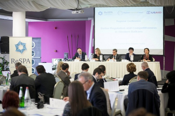Conference on Better Regulation and Competitiveness in the Western Balkans